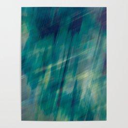 Submerge Aqua Poster