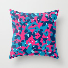 Abstract prganic pattern 5 Throw Pillow