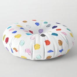 Polka Daubs Floor Pillow