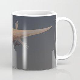 Axolotl Vector in Orange Coffee Mug