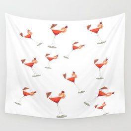 Cocktail Party Wall Tapestry