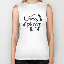 Chess player Biker Tank