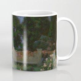 The Sanctuary (Flower Garden) by Thomas Mostyn Coffee Mug