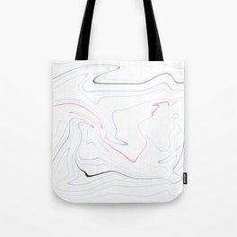 Minimal marble look Tote Bag