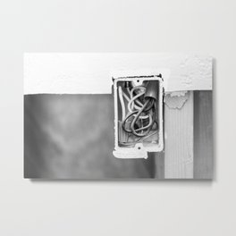 Electrical Outlet 2 Metal Print