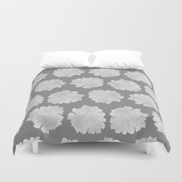 Gardenia Pattern - dedicated to Billie Holiday Duvet Cover