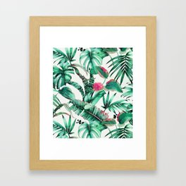 Jungle vibes I Framed Art Print