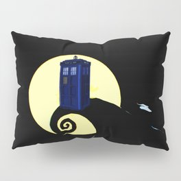 tardis  under the full moon Pillow Sham
