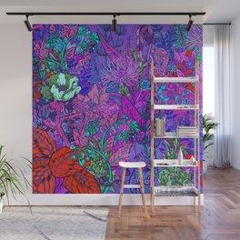 Electric Garden Wall Mural