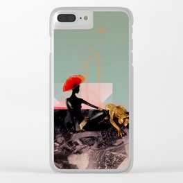 Animal Connection Clear iPhone Case