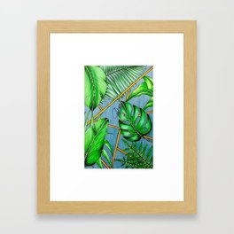 Tropical Live Framed Art Print