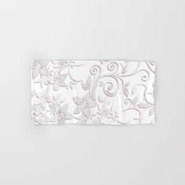 Flowers wall paper Hand & Bath Towel