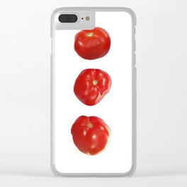 Vegetable tomatoes for the kitchen, Tomato poster Kitchen-art Clear iPhone Case