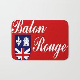 flag of baton rouge Bath Mat