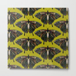 swallowtail butterfly citron Metal Print