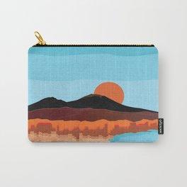 Landscape of Naples with volcano Vesuvio Carry-All Pouch