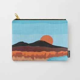 Landscape of Naples with volcano Vesuvio Carry-All Pouch