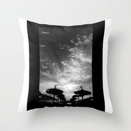 Sky  Explosion Throw Pillow