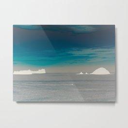 Frozen Islands Metal Print