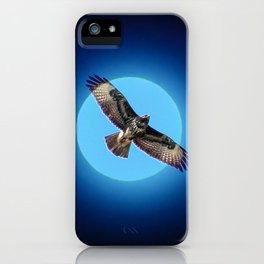 Moments - Full moon iPhone Case