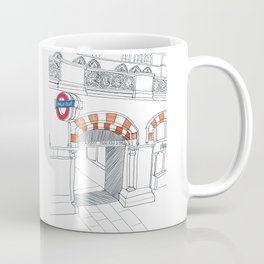 Underground in London Coffee Mug