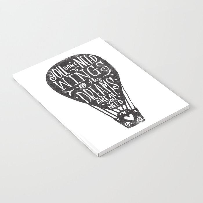 wings & dreams Notebook