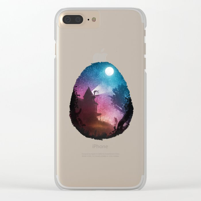 Young Astronomer Clear iPhone Case