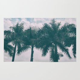 Palm Trees in tropical climate Rug