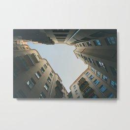 The sky above us Metal Print