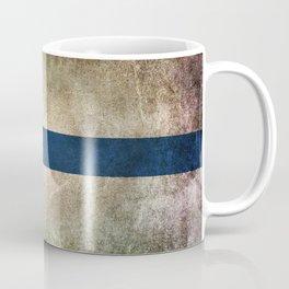 Old and Worn Distressed Vintage Flag of Finland Coffee Mug
