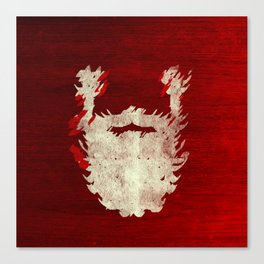 Santa Beard 1 Canvas Print