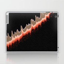 Retro Lava Lines Laptop & iPad Skin