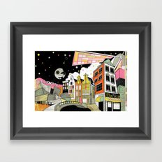 Amsterdam to Hollywood Framed Art Print