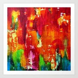 Reflets II Art Print