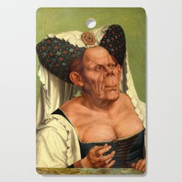 The Ugly Duchess - Quentin Matsys Cutting Board