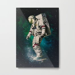 Space Ride Metal Print