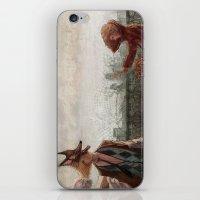 werewolf iPhone & iPod Skins featuring Werewolf by Yuko Rabbit