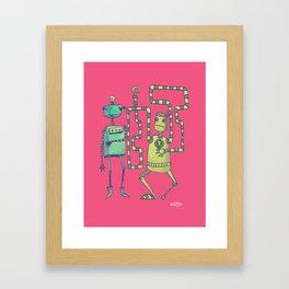Robo Pirates! Framed Art Print