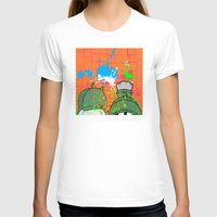 cartoons T-shirts featuring Cartoons and Cereal by Kerosene Bill
