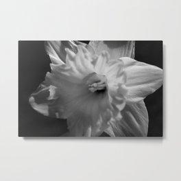 Dark Flower Side Metal Print