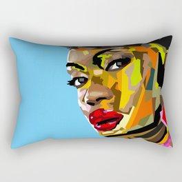 Modern Woman Rectangular Pillow