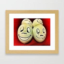 Eggheads Framed Art Print