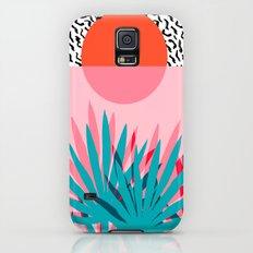 Whoa - palm sunrise southwest california palm beach sun city los angeles retro palm springs resort  Galaxy S5 Slim Case