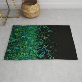 Binary Cloud Rug