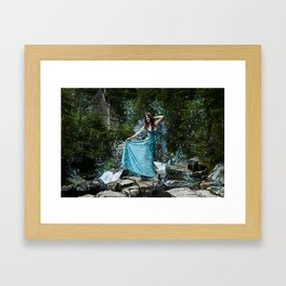 Fairy princess Framed Art Print