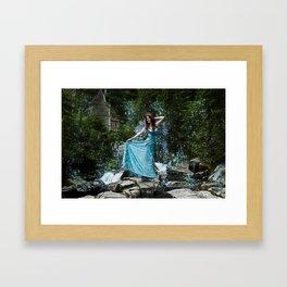 Fairy princess Framed Art Print