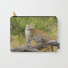 South African Leopard Carry-All Pouch