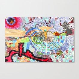 Doodlebug Canvas Print