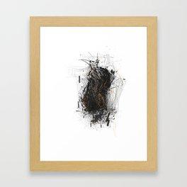Unwelcome Gaze – Amazon 16 Framed Art Print