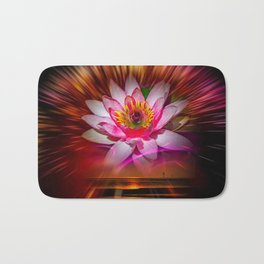 Wellness Water Lily Rose  6 Bath Mat